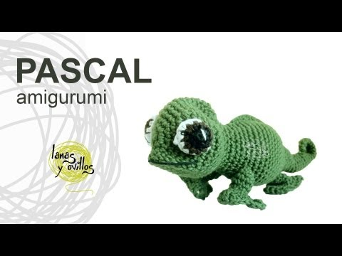 Tutorial Camaleón Amigurumi Chameleon (english subtitles)