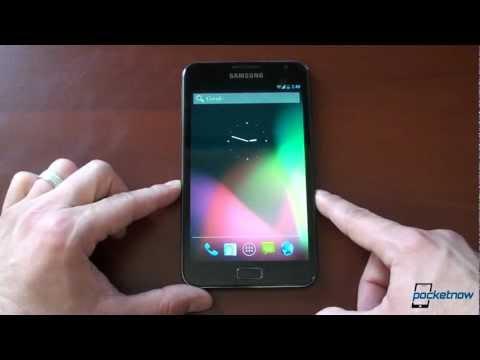 CyanogenMod 10 Jelly Bean on the Samsung Galaxy Note