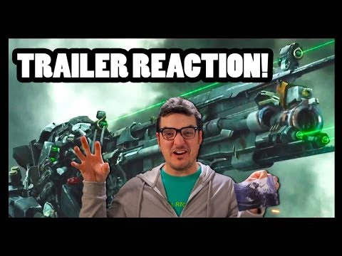 TRANSFORMERS: AGE OF EXTINCTION TRAILER REACTION - CineFix Now