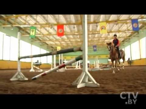 CTV.BY: Конкур – наиболее зрелищный вид конного спорта