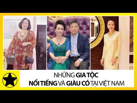 Bí Mật Về Những Gia Tộc Giàu Nhất Việt Nam | nguoi giau nhat viet nam