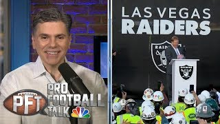 Carr on rumors: 'With my job, it's always a story' | Pro Football Talk | NBC Sports