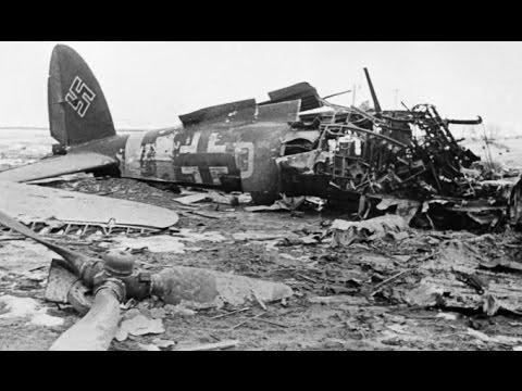 В Крыму нашли сбитый в годы войны немецкий самолет Не 111
