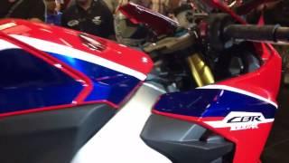 Test pô zin Honda CBR1000RR FIREBLADE SP 2017