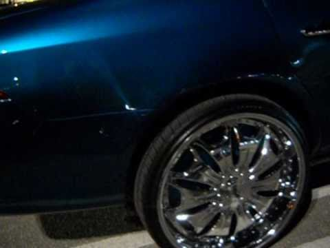 "Buick Lucerne on 24"" Dub Vice Floaters"