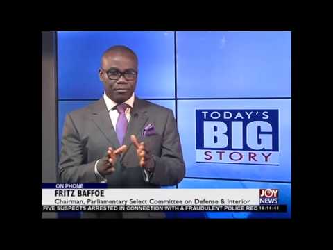 Police Recruitment Fraud - Today's Big Story on Joy News (2-3-15)