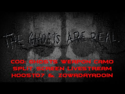 Ghosts Camo | Call of Duty: Black Ops 2 Split-Screen Livestream | Hoost07 & Zowadayadoin