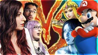 Feminists & SJW's VS. Video Games