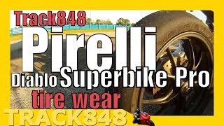 Pirelli Diablo Superbike Pro Tire Wear