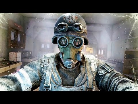 Metro Last Light Redux: Stealth Sniper Mission Gameplay