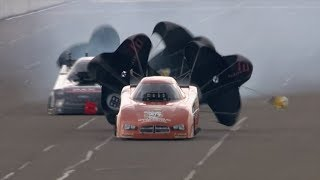 It was a close call as Brian Stewart swaps lanes in Brainerd