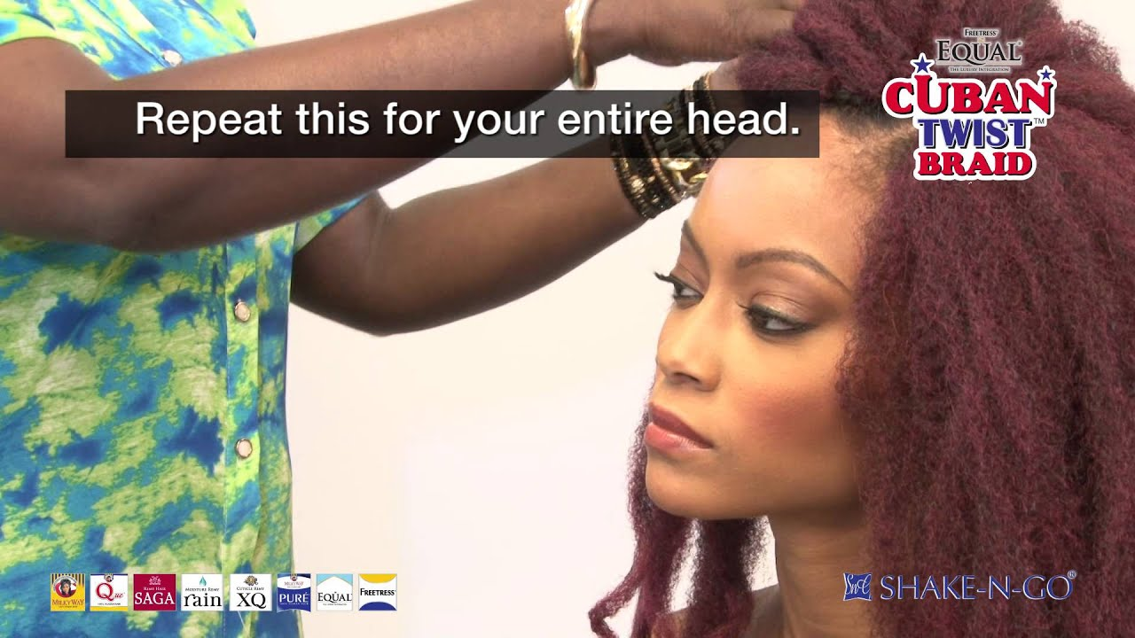 how to put flexi rods on weave