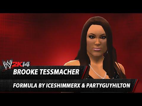 WWE 2K14: Brooke Tessmacher CAW Formula By IceShimmer x