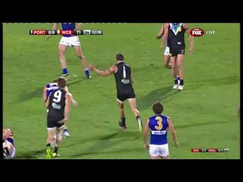 Round 5 AFL - Port Adelaide v West Coast Highlights