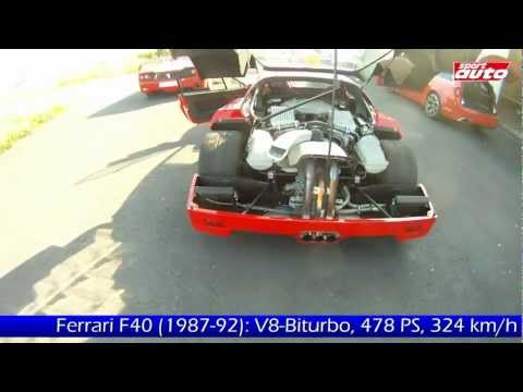 Ferrari F40 F50 458 Italia Drift High Speed Onboard Christian Gebhardt Supercar Test sport auto