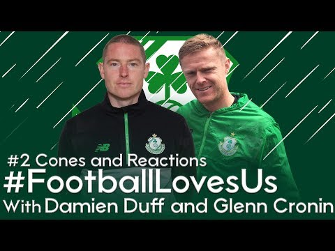 Shamrock Rovers #FootballLovesUs - #2 Cones and Reactions