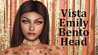 Vista Emily Bento Mesh Head in Second Life