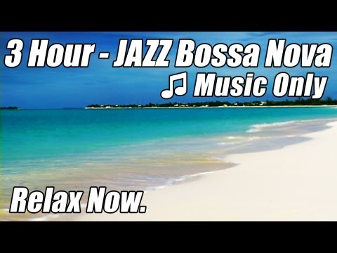 BOSSA NOVA Music Smooth JAZZ INSTRUMENTAL Playlist Beautiful Relaxing Background Study Relax Happy