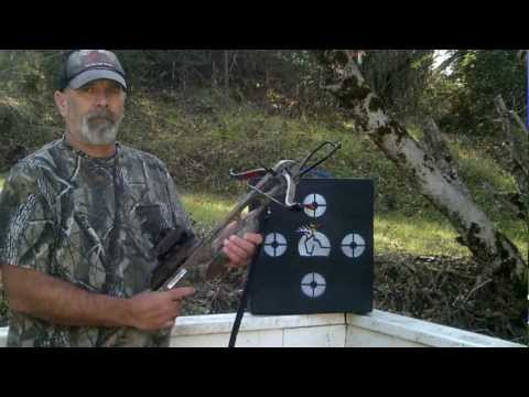 Jaguar crossbow test fire 1