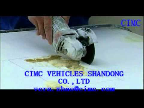 Special Repairing Technology of Insulated Van Body.