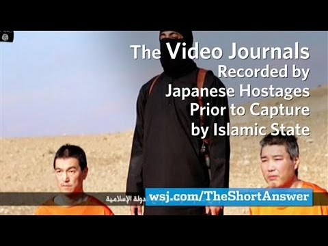 Japanese ISIS Hostages Kept Video Journals Prior To Capture