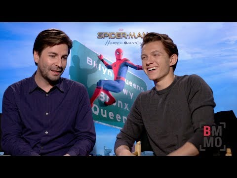 Tom Holland & Jon Watts Interview - Spider-Man: Homecoming