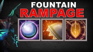 Insane TANK Fountain Rampage Combo | Dota 2 Ability Draft