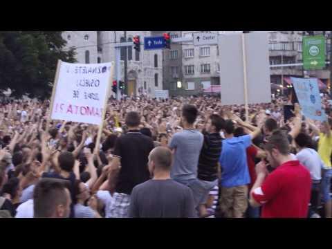 Dubioza kolektiv @Sarajevo protest za #JMBG