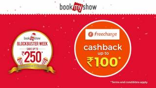 Online Movie Ticket Discount with Cashback - BookMyShow
