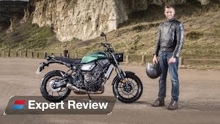 2016 Yamaha XSR700 bike review