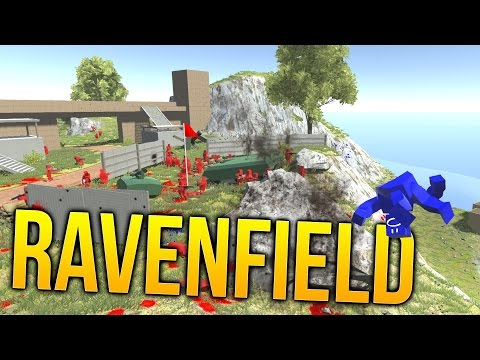 Ravenfield - 500 vs 500 Battle Hilarity - Slow Motion!?! - Ravenfield Gameplay Highlights
