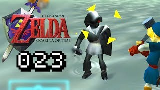 LINK VS DARK LINK - Lets Play Zelda Ocarina of Time Gameplay #023 Deutsch German