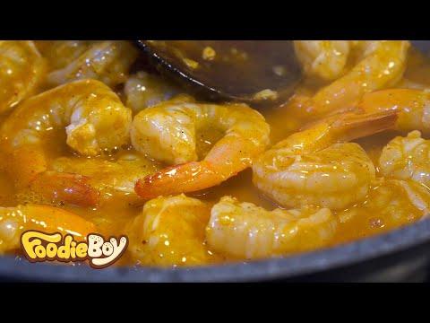 대구 서문야시장 길거리 음식 / 쉬림프 박스(Shrimp Box) / Korean Street Food / Seomun Night Market, Daegu Korea