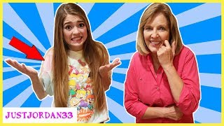 Grandma Buys My Outfits Shopping Challenge In Real Life 2018 / JustJordan33