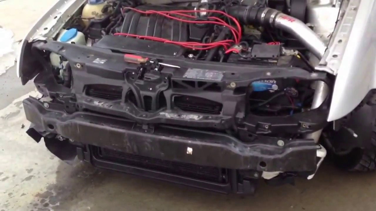 DIY  mk4 vw Jetta how to remove front bumper  YouTube