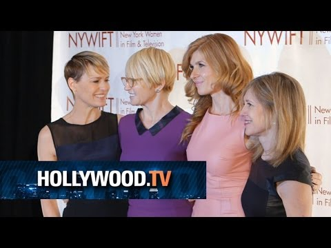 Connie Britton, Ellen Barkin and Robin Wright honored by NYWIFT - Hollywood.TV