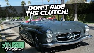 Don't ride the clutch on a priceless Mercedes