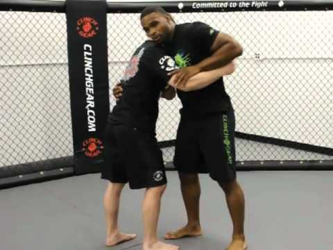 Clinch Gear MMA Technique of the Week - Tyron Woodley Arm Drag - MMA Weekly News Image 1