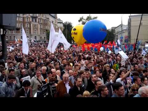 Moscow anti-Putin rally  2012-09-15