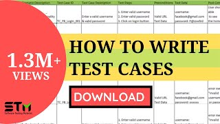 How To Write TEST CASES In Manual Testing   Software Testing