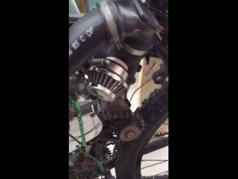 Fastest motor bicycle completely modified like no other