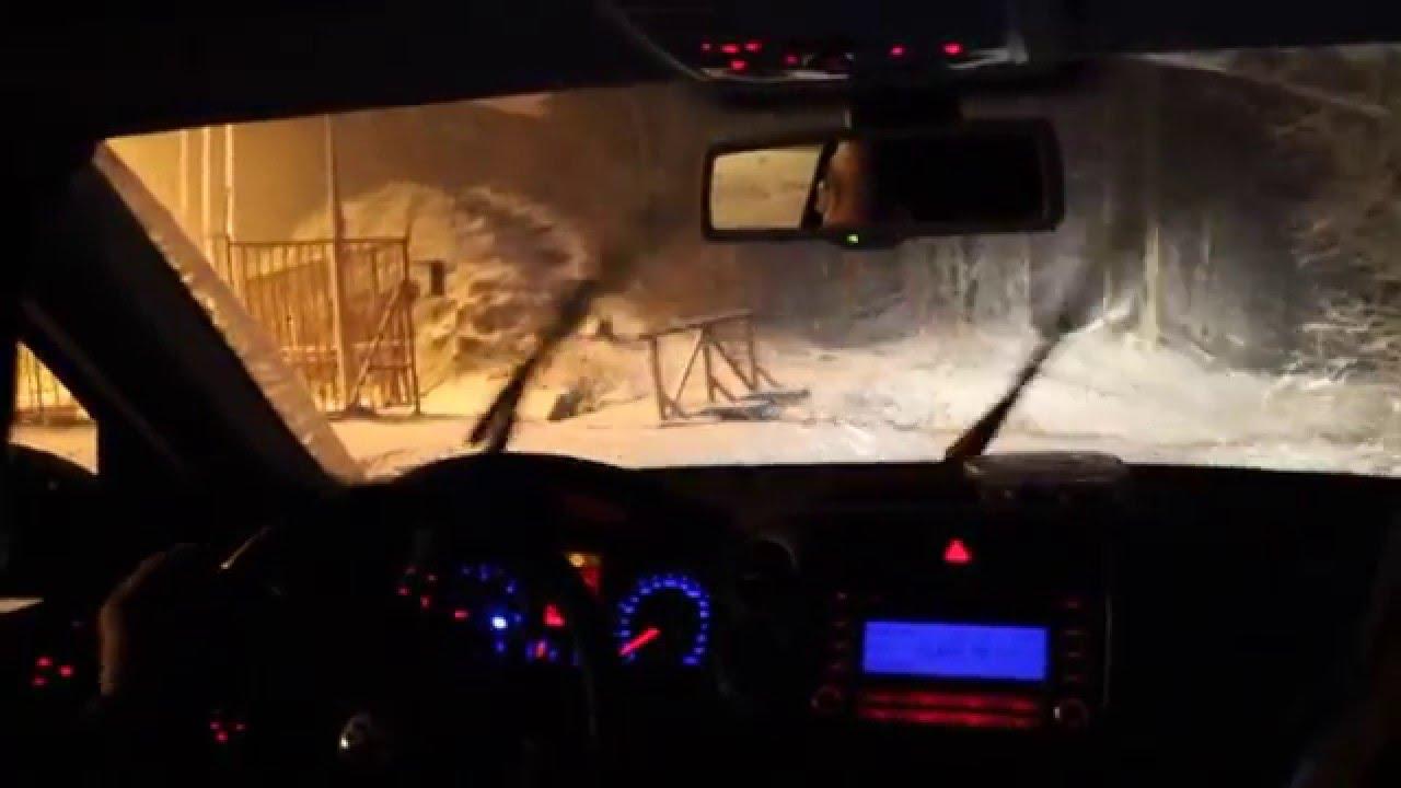 Szakad a hó a Dunántúlon - videók