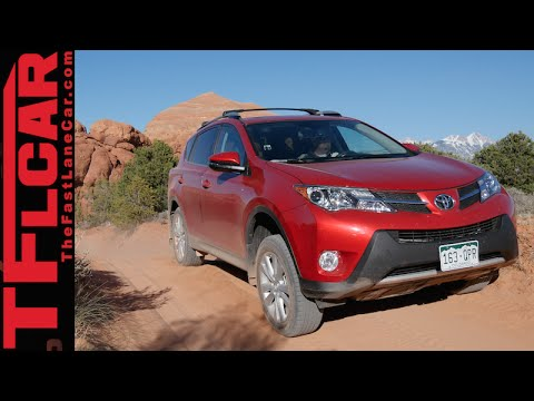 2015 Toyota RAV4 Moab Off-Road Review: Sand. Wind & Sun