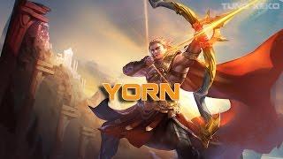 Hướng dẫn chơi Yorn - Mũi Tên Mặt Trời - Liên Quân Mobile - Realm of Valor