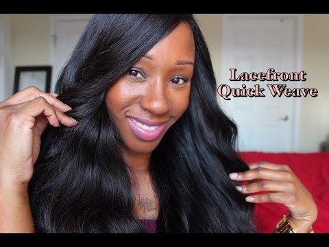 Lace Closure Quick Weave Tutorial   Hair Chat!