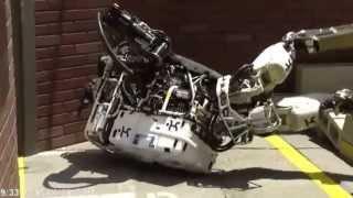 ロボットが転ぶだけなのに何故か面白い