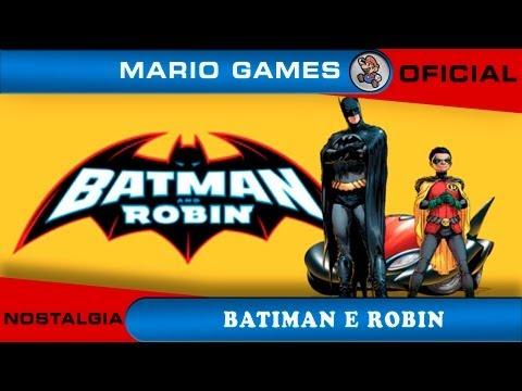 Batman & Robin - Mario Games