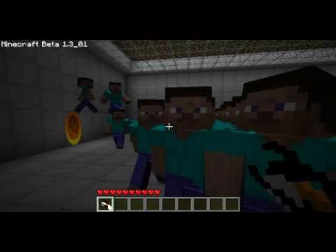 Portal in Minecraft Beta (A Portal Trailer Parody)