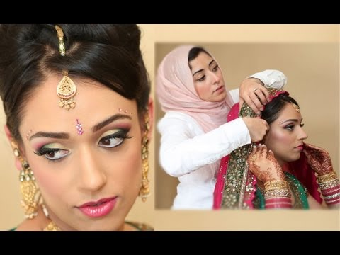 Asian Bridal Makeup Tutorial With An Arabian Twist   Real Bride