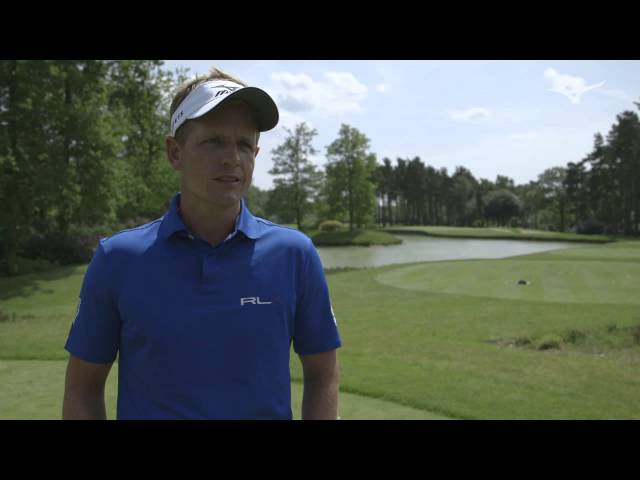 MIZUNO MASTERCLASS LIVE 2014:  Luke Donald talks swing changes.